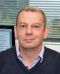 Photograph of Professor Simon Hubbard